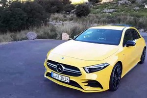 Mercedes A35 AMG, 'entry level' scatenata (ANSA)