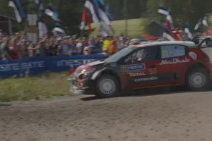 GLI HIGHLIGHTS DEL RALLY DI FINLANDIA - Video 5 (ANSA)