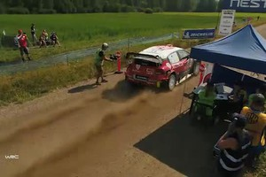 GLI HIGHLIGHTS DEL RALLY DI FINLANDIA - Video 4 (ANSA)