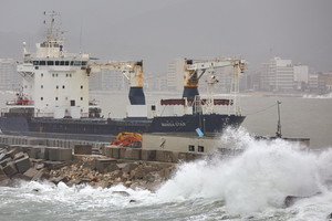 Aftermaths of Gloria squall hitting Spanish eastern coasts (ANSA)