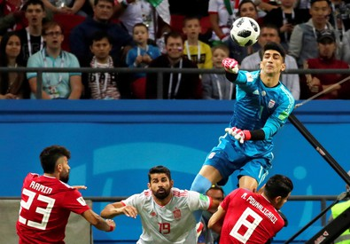 Group B Iran vs Spain (ANSA)