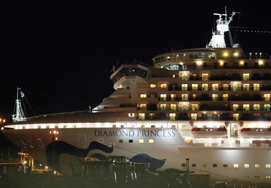 The Diamond Princess (ANSA)