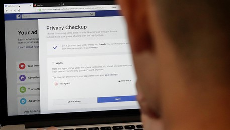 Facebook Privacy Scandal Change(ANSA)