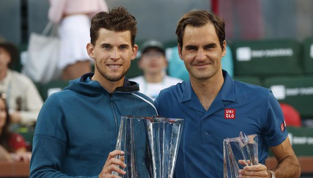 Thiem trionfa a Indian Wells, Federer ko(ANSA)