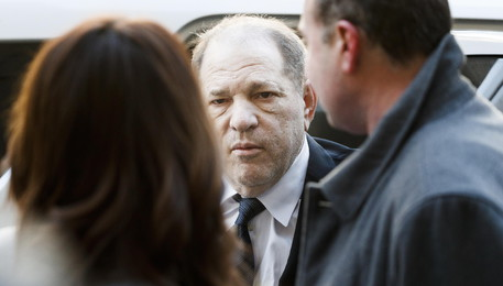 Harvey Weinstein a New York (ANSA)