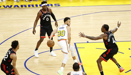 Golden State Warriors-Toronto Raptors (ANSA)