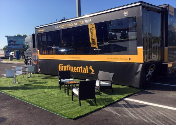 Continental Truck On Tour (ANSA)
