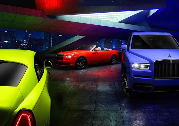 Rolls-Royce Black Badge, nuova incredibile serie Neon Nights © Rolls-Royce Motor Cars