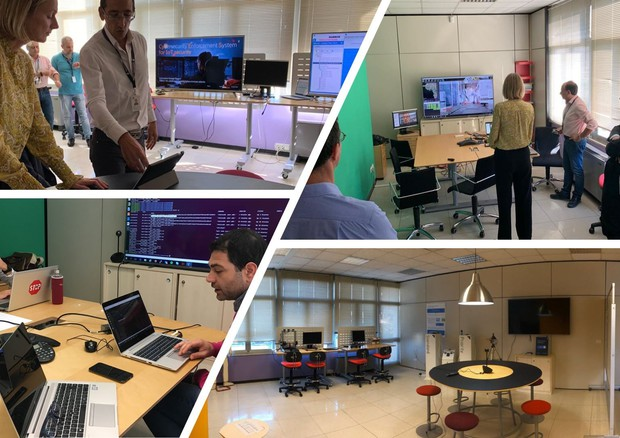 Ericsson presenta gli Innovation Garage © Ansa