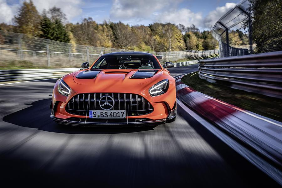 Mercedes AMG Black Series, è record al Nurburgring © Ansa